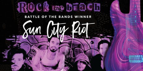 Concrete Beach Brewery presents Battle of the Bands Winner Sun City Riot at the Fillmore Miami tickets