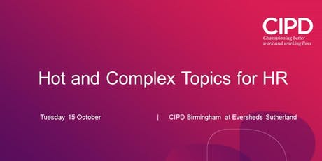 Hot and complex topics for HR tickets