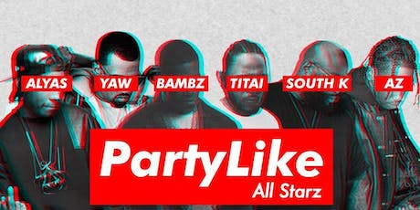 Party Like - HIP HOP party dès 18h @Wanderlust tickets