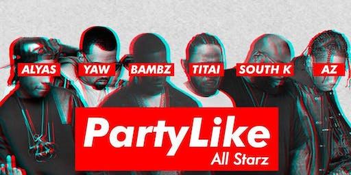 Party Like - HIP HOP party dès 18h @Wanderlust