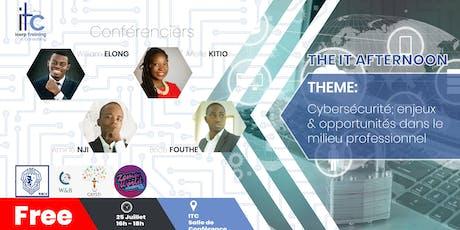 Cybersecurité; enjeux et opportunité dans le milieu professionnel tickets