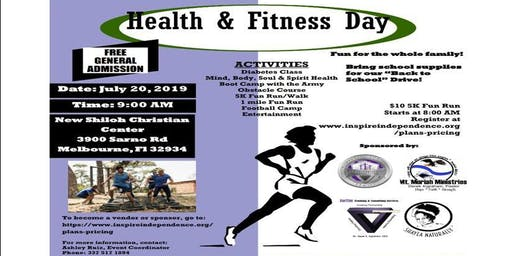 Inspire Independence Health & Fitness Day 5K