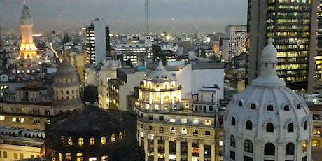 Ocaso en el Mirador Güemes y las mejores cúpulas de la City entradas
