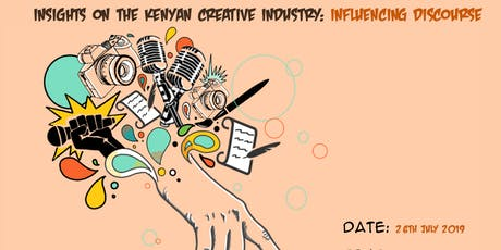 Conversation: Insight on the Kenyan Creative Industry;Influencing Discourse tickets