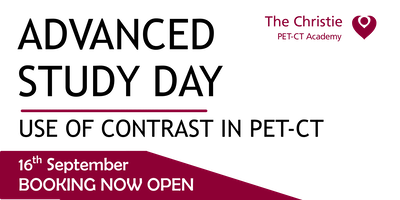 Advanced Study Day: Using Contrast in PET-CT