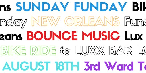 Sunday Funday Bounce Music  Bike Ride  to Luxx Bar  & Lounge