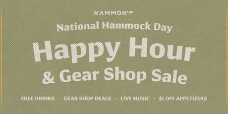 Kammok Happy Hour: National Hammock Day tickets