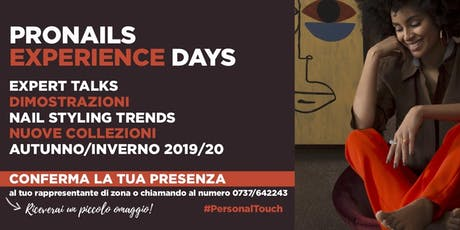 Pronails Experience Day biglietti