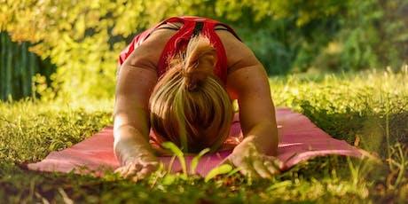 Yoga extérieur parmi les chevaux tickets