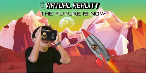 Summer Camp Virtual Reality Ages 8-14