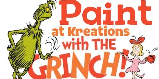 Paint with the GRINCH!