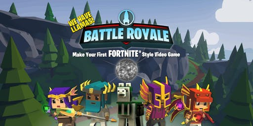 Summer Camp: Battle Royale Make your First Fortnite Style Video Game Ages 8- 13