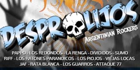 """DESPROLIJOS """"La Fiesta Rockera Argentina"""" tickets"""