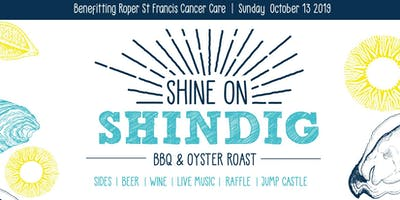 Shine On Shindig: All-You-Can-Eat Oysters/BBQ/Live Music!