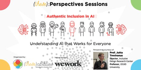 (these)abilities presents: Jutta Treviranus | Tackling AI Bias for All tickets