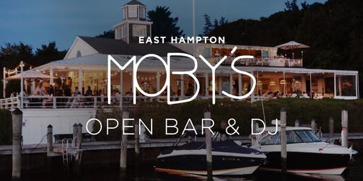 Open Bar and DJ Jamo Willo at Moby's, East Hampton