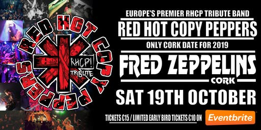 Red Hot Copy Peppers Live At Fred Zeppelins Cork