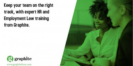 Employment Law Compliance & HR Best Practice with Graphite HRM tickets