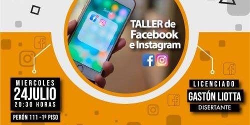 Taller de Facebook e Instagram