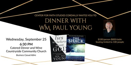 Dinner with Wm. Paul Young
