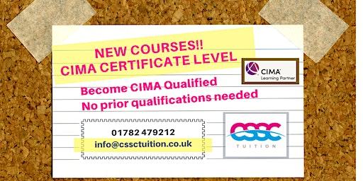 Accountancy Courses: CIMA Certificate Level ( CIMA BA Cert) Evening Classes