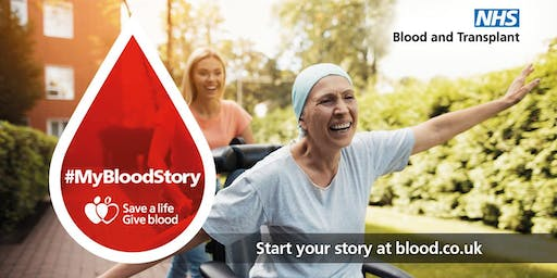 Give Blood NHS - Blood Donation Session Tadcaster