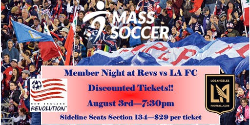 Mass Soccer Night at the Revs!