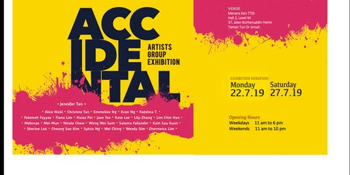 The Accidental Artists Group Art Exhibition