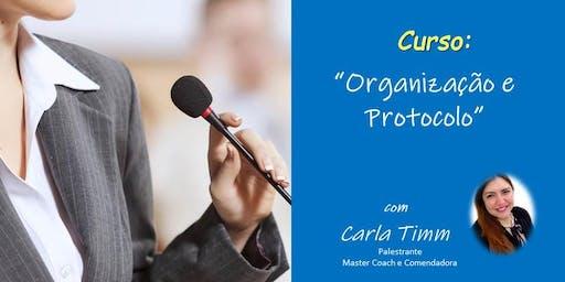 Curso de Organização e Protocolo
