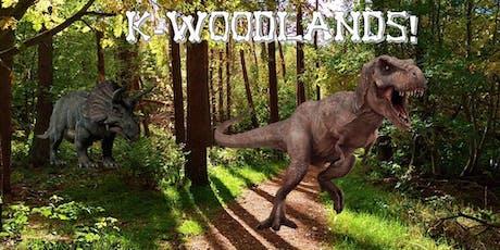 Jurassic Woodlands!  tickets