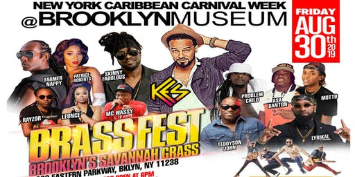 "BRASSFEST 2019: Brooklyn's ""Savannah Grass"" featuring KES the Band, Patrice Roberts, Farmer Nappy, Motto, Teddyson John and more!"