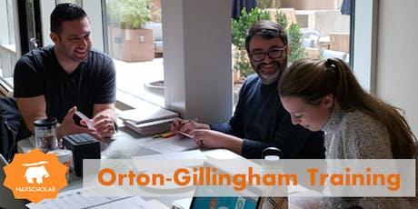 MaxScholar Orton-Gillingham Training tickets
