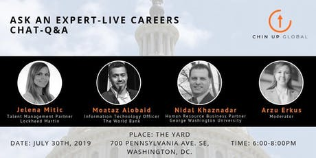 Ask an Expert- Live Careers Chat tickets