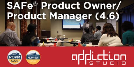 Scaled Agile (SAFe) Product Owner/ Product Manager 4.6 tickets