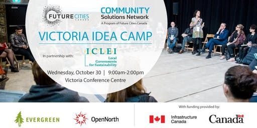 Victoria Idea Camp at the 2019 Livable Cities Forum