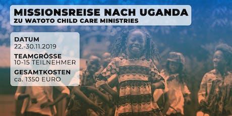 Missionsreise Uganda (WATOTO) tickets