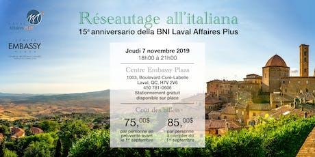 Réseautage all'italiana tickets