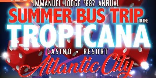 Summer Bus Trip to Tropicana Casino Resort