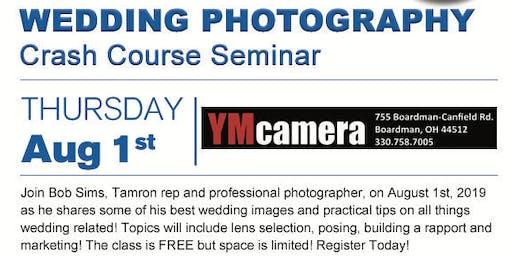 Wedding Photography: Crash Course Seminar W/ Tamron