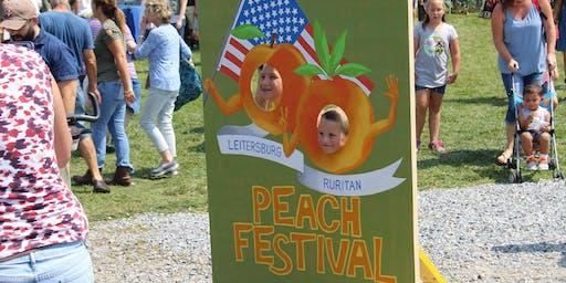 Peach Festival 5K run / walk