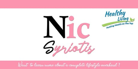 3 Steps of how to Lose weight effectively by Nic Syriotis tickets