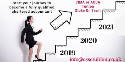 Accountancy Courses: CIMA or ACCA (Staffordshire) - Book Now!