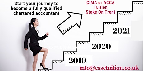 Accountancy Courses: CIMA or ACCA (Staffordshire) - Book Now! tickets