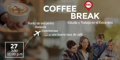 Coffee Break - Estudia y Trabaja en el Extranjero tickets