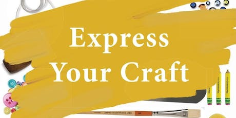 Express Your Craft- Sip and Paint  tickets
