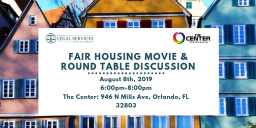 Fair Housing Movie and Round Table