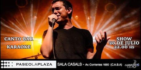 Show Latino con Karaoke entradas