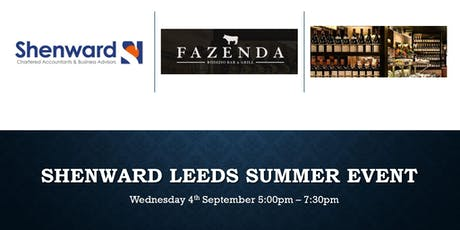 Shenward Chartered Accountants & Business Advisors Leeds  Summer Event tickets