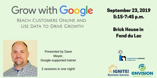 Reach Customers Online with Google & Using Data to Drive Growth