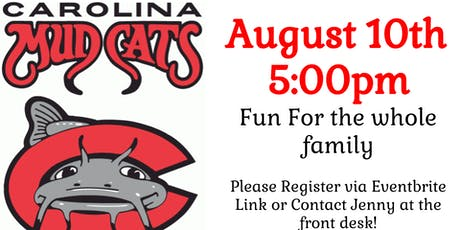 Mudcats Game tickets
